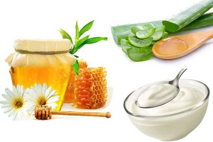 Nha đam, mật ong và sữa chua